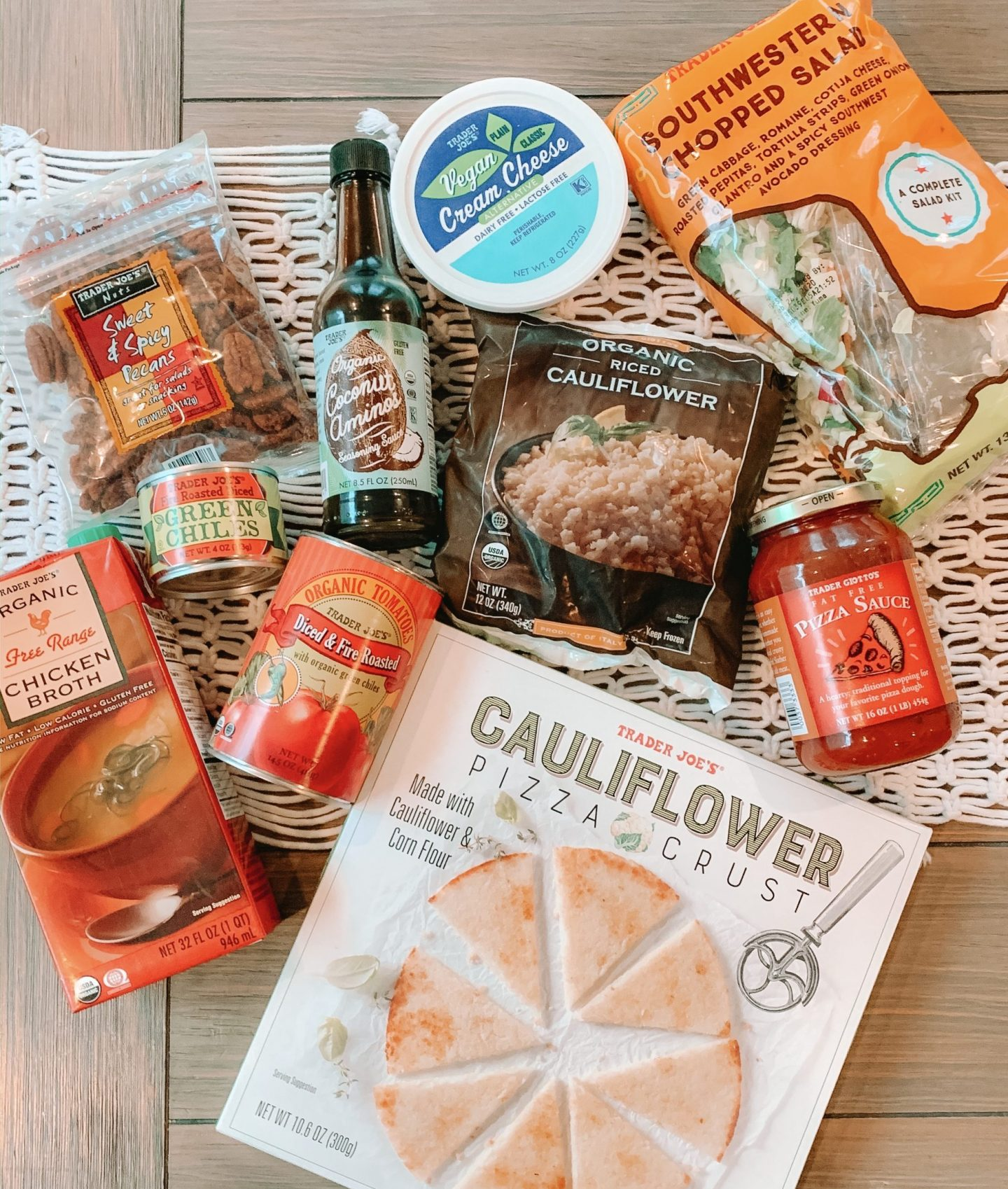 Trader Joe's Grocery List (+ 7 meal ideas)